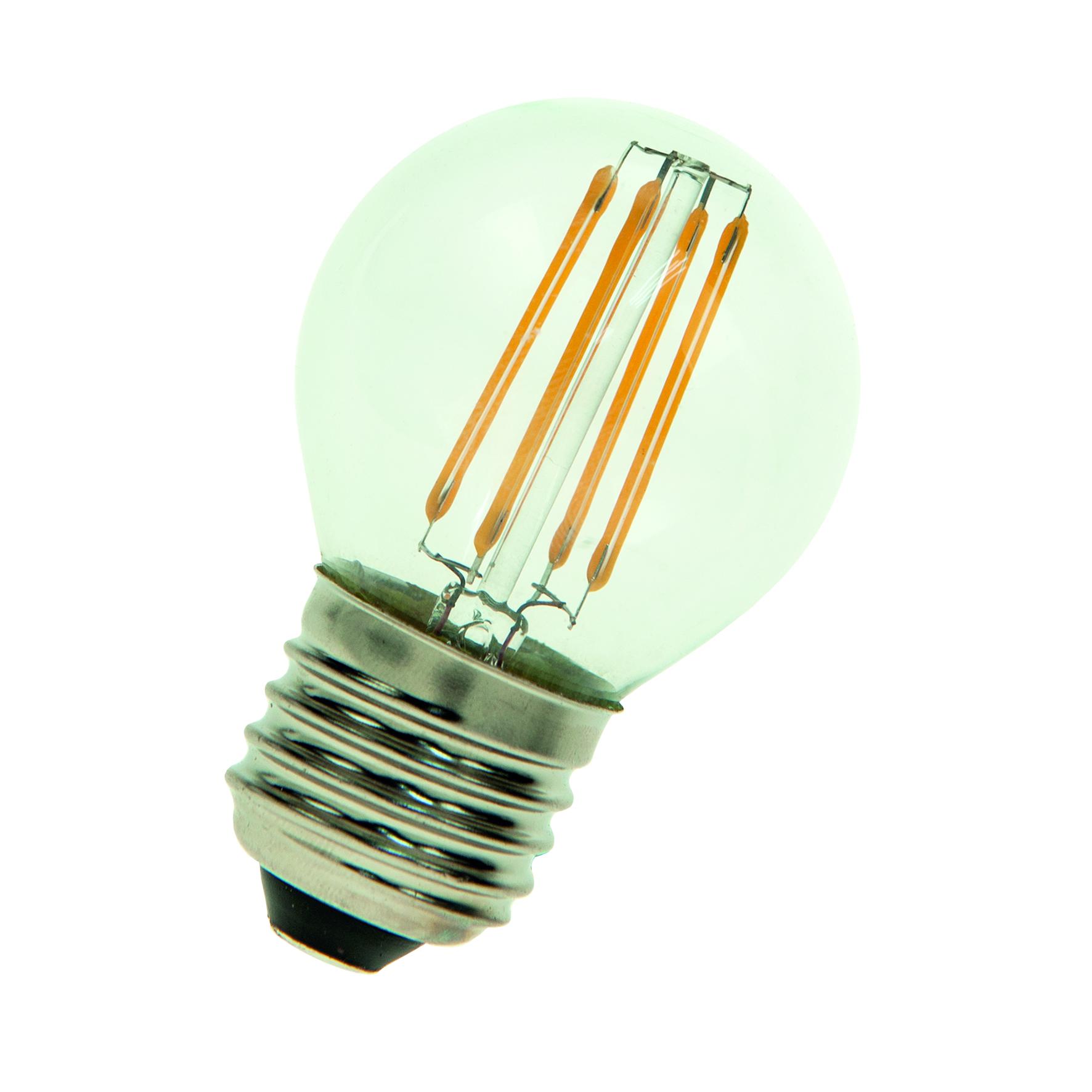 Bailey 80100037256 | LED Filament G45 E27 24V/DC 3W 2700K Clear ...